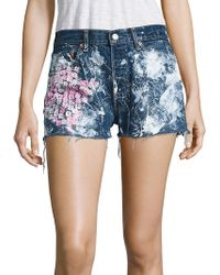 Rialto Jean Project - Vintage 501 Cherry Blossom Cut-off Shorts - Lyst