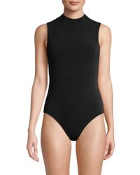 Alice + Olivia - Becker Solid Bodysuit - Lyst