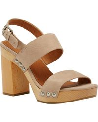 Frye - Tori 2 Band Leather Sandal - Lyst