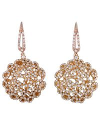 Roberto Coin 18k Rose Gold 2.25 Ct. Tw. Diamond Earrings