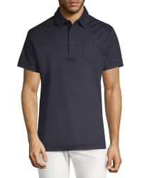 J.Lindeberg - Mikael Chest Patch Polo - Lyst