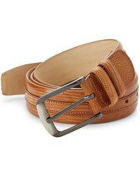 Mezlan - Iguana Leather Belt - Lyst