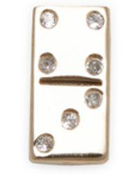 Marc Jacobs - Domino Single Stud Earring - Lyst