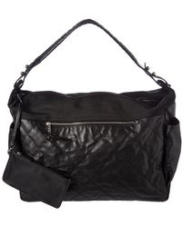 Chanel - Black Quilted Lambskin Leather Paris-biarritz Large Hobo - Lyst