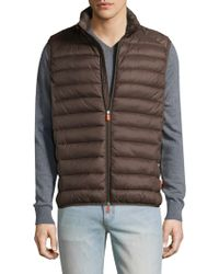Save The Duck | Basic Solid Vest | Lyst