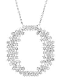 Roberto Coin - 18k 1.64 Ct. Tw. Diamond Necklace - Lyst