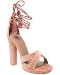 Joie - Nadav Leather Sandal - Lyst