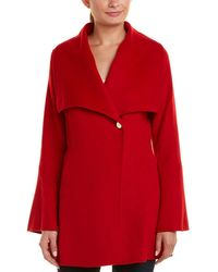 Laundry by Shelli Segal - Double Faced Wool-blend Jacket - Lyst
