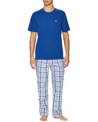 Brooks Brothers - Loungeset Multi Plaid Pyjama Trousers - Lyst