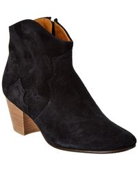Isabel Marant - Dicker Suede Ankle Boot - Lyst
