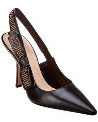 Dior - J'a Slingback Leather Pump - Lyst