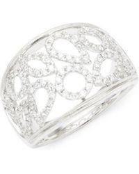 Effy - Fine Jewellery 14k Diamond Statement Ring - Lyst