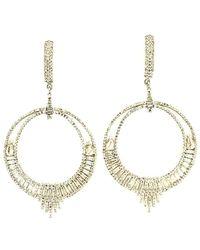 Arthur Marder Fine Jewelry - 14k & Silver 4.15 Ct. Tw. Diamond Earrings - Lyst