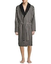 UGG - Kalib Plaid Robe - Lyst