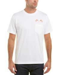 Brooks Brothers - 1818 Logo T-shirt - Lyst