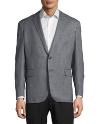 Ralph Lauren - Textured Wool-blend Jacket - Lyst
