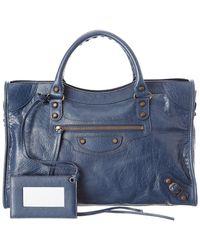 Balenciaga - Classic City Medium Leather Shoulder Bag - Lyst