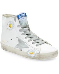 fa93203dfb3b Lyst - Golden Goose Deluxe Brand Mid Star Suede Mid-Top Sneakers in Gray