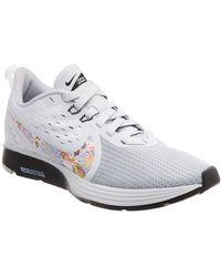 reputable site db250 9d480 Nike - Zoom Strike 2 Mesh Running Shoe - Lyst