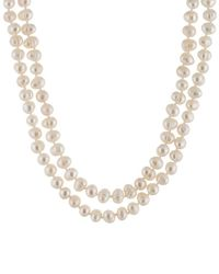 Splendid - 6-7mm Freshwater Pearl 64in Necklace - Lyst