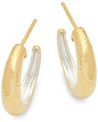 Gurhan - Sterling Silver Hook Back Earrings - Lyst
