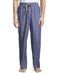 Kenneth Cole - Woven Striped Sleep Pant - Lyst