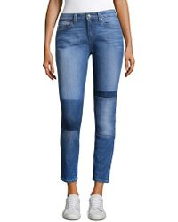 Derek Lam - Patchwork Skinny Jeans - Lyst