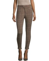 Tracy Reese - Plaid Stirrup Pant - Lyst