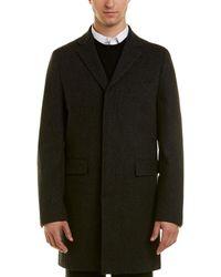 Brooks Brothers - Wool Dress Coat - Lyst