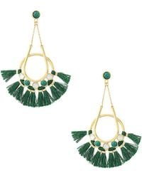 Rebecca Minkoff - Utopia Tassel Chandelier Earrings - Lyst
