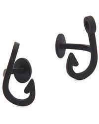 Miansai | Hooked Brass Cufflinks | Lyst
