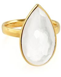 Ippolita | Rock Candy 18k Gold Teardrop Solitaire Ring | Lyst