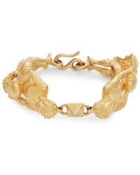 RED Valentino - Metallic Zodiac Bracelet - Lyst