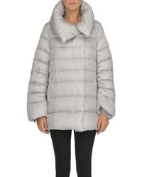 Add Quilted Down Jacket - Gray