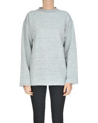 Golden Goose Deluxe Brand - Melange Cotton Sweatshirt - Lyst