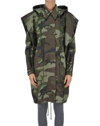 MM6 by Maison Martin Margiela - Camouflage Print Parka - Lyst