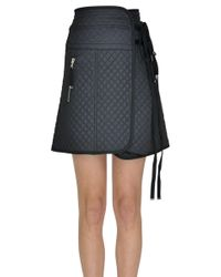 Diesel Black Gold - Quilted Mini Skirt - Lyst