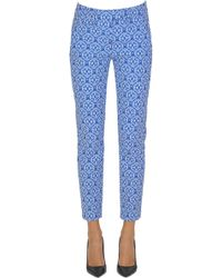 Dondup - Perfect Jacquard Cloth Trousers - Lyst
