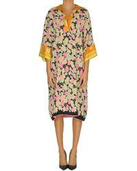 Dries Van Noten - Silk Tunic Dress - Lyst