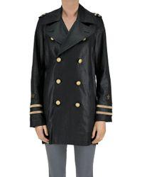 Polo Ralph Lauren - Linen Double Breasted Coat - Lyst