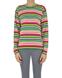 N°21 - Multicolour Stripes Pullover - Lyst
