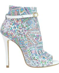 Marc Ellis - Printed Leather Ankle-boots - Lyst