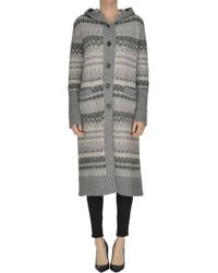 Anneclaire - Long Cardigan - Lyst
