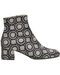 Maliparmi - Jacquard Fabric Ankle Boots - Lyst