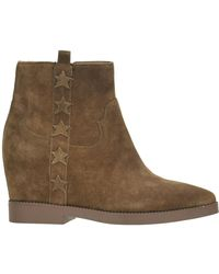 f82308ff599 Ash - Goldie Suede Boots - Lyst