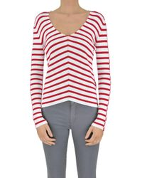 Twin Set - Striped Pullover - Lyst