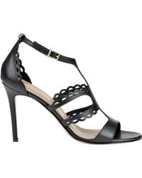 Twin Set - Leather Sandals - Lyst
