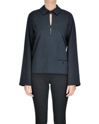 Lemaire - Cotton-blend Shirt - Lyst