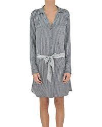 Equipment By Kate Moss - Silk Shirt Dress - Lyst
