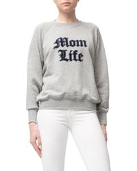 GOOD AMERICAN - The Mom Life Sweater - Lyst